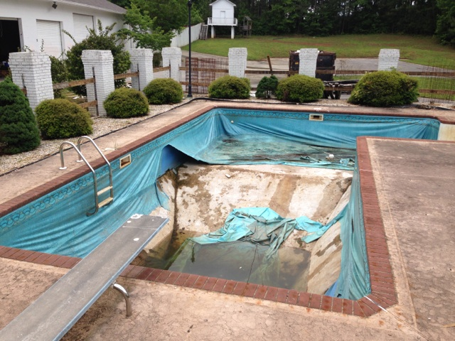Inground Pool Installation Swimming Pools Photos