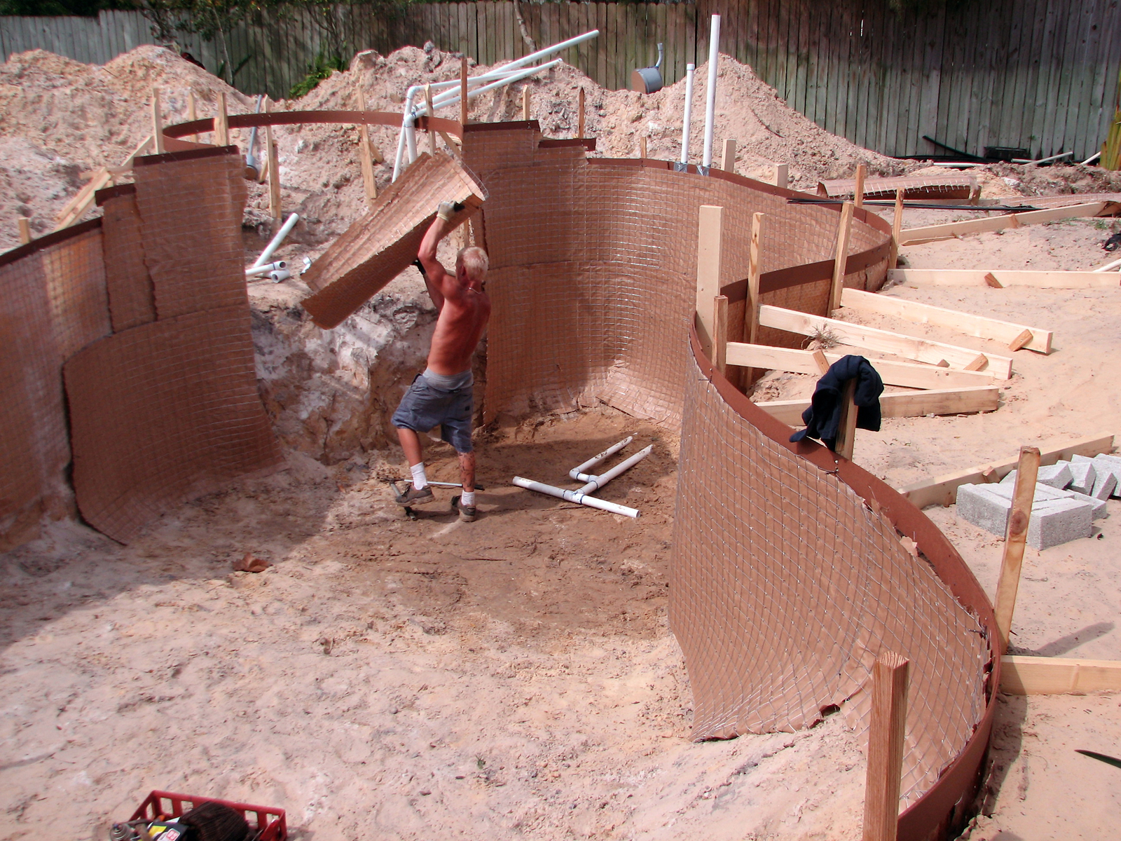 swimming pool installation dallas