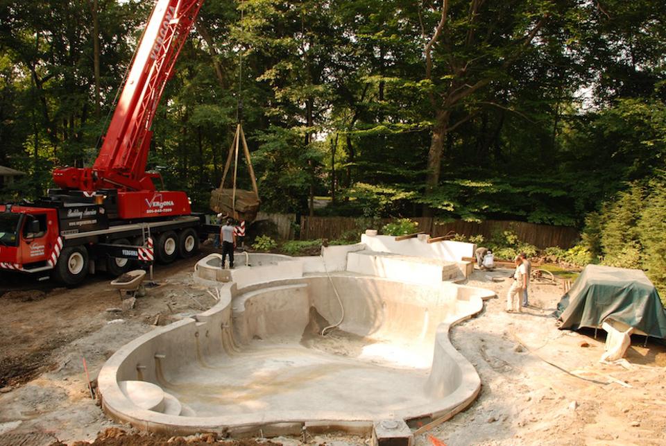 swimming pool installation nj