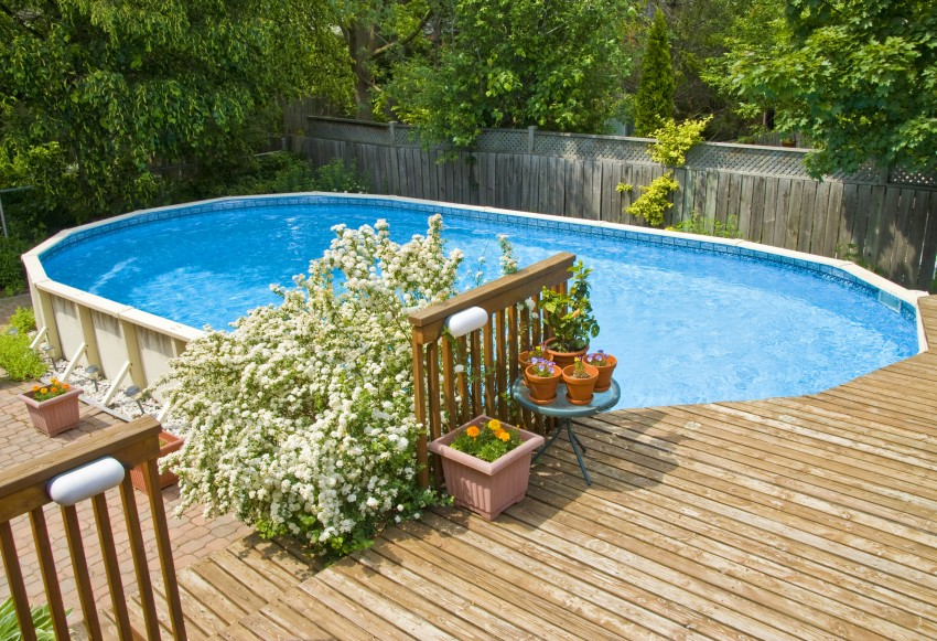 swimming pools above ground cost