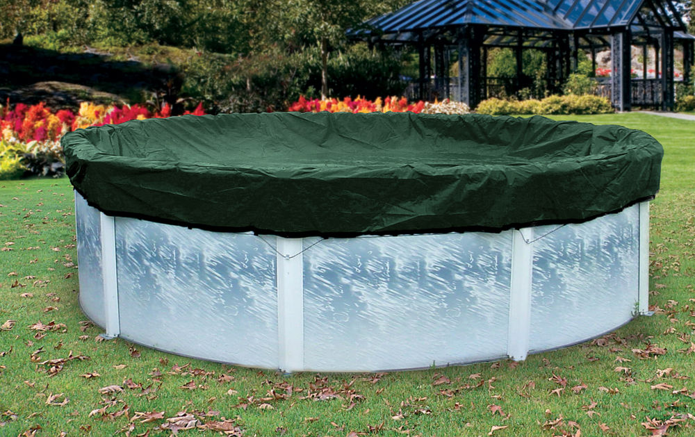 swimming pools above ground covers
