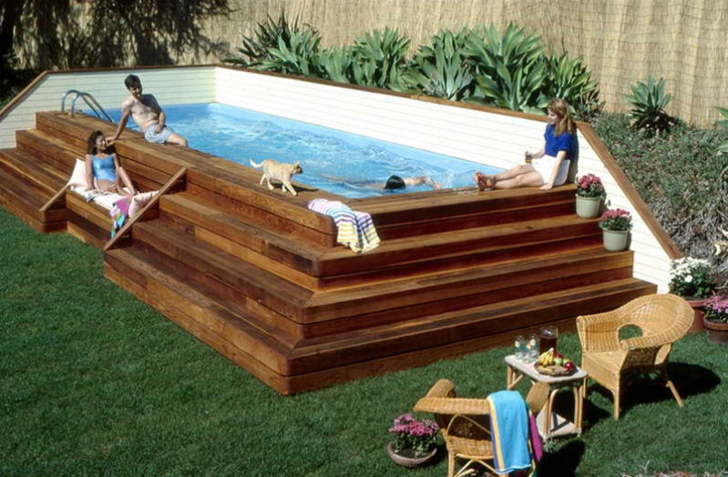 swimming pools above ground installation