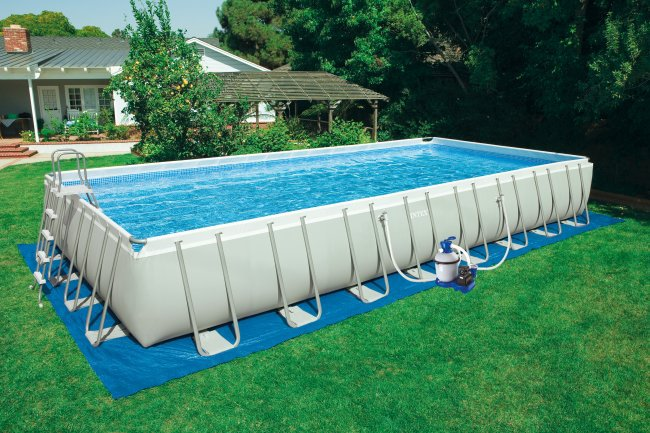 swimming pools above ground rectangular