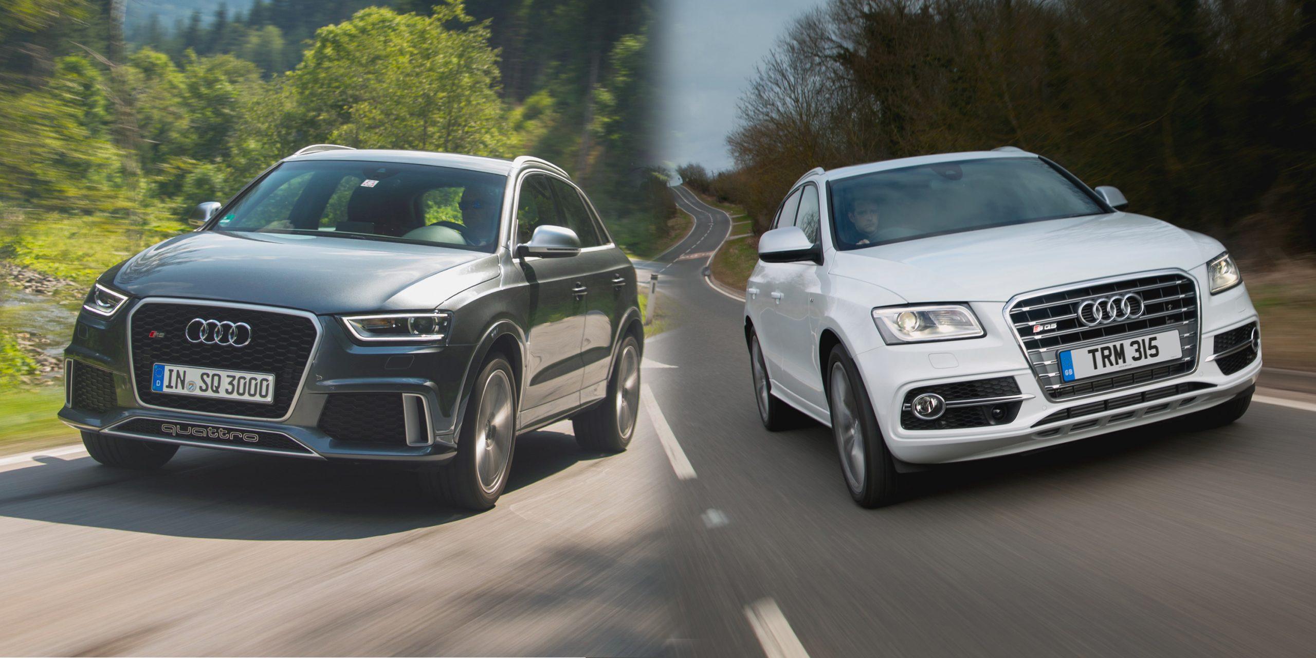 Audi Q7 and Audi Q3