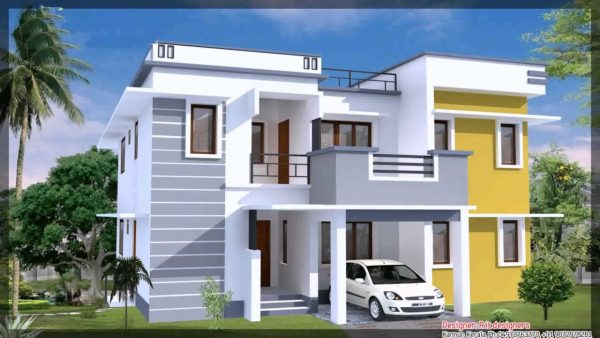 Duplex House Plans Indian Style_5