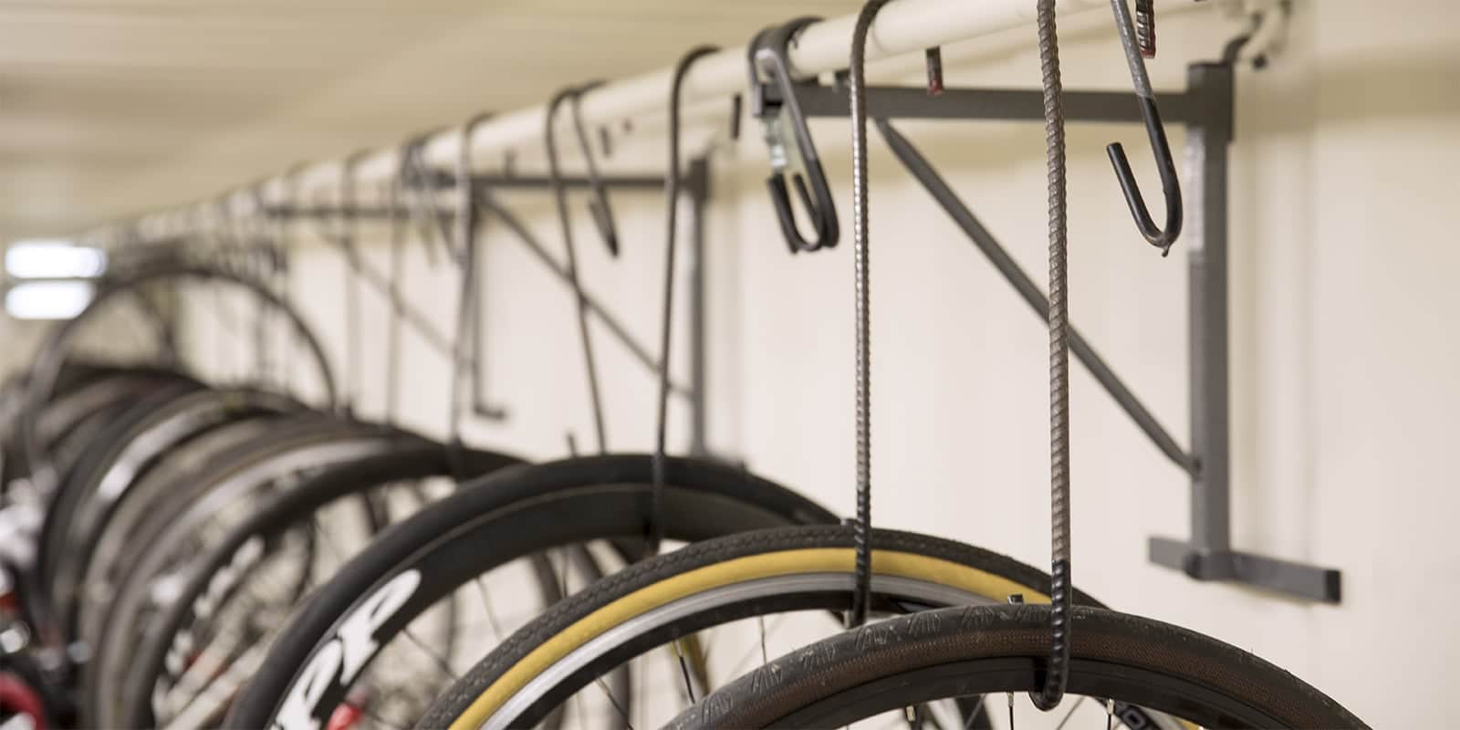 How to store your bike in the shed