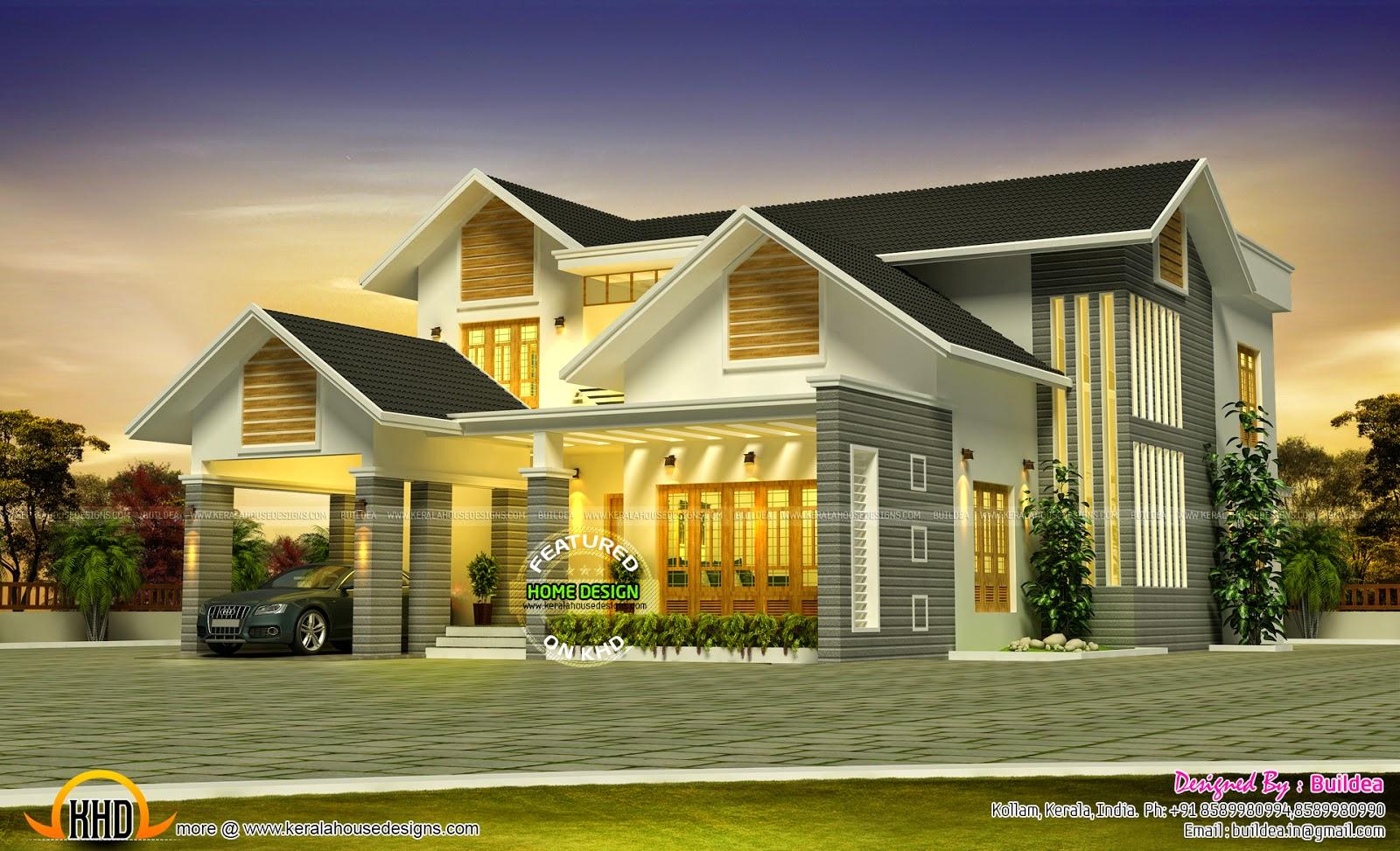 Kerala Style Nalukettu House