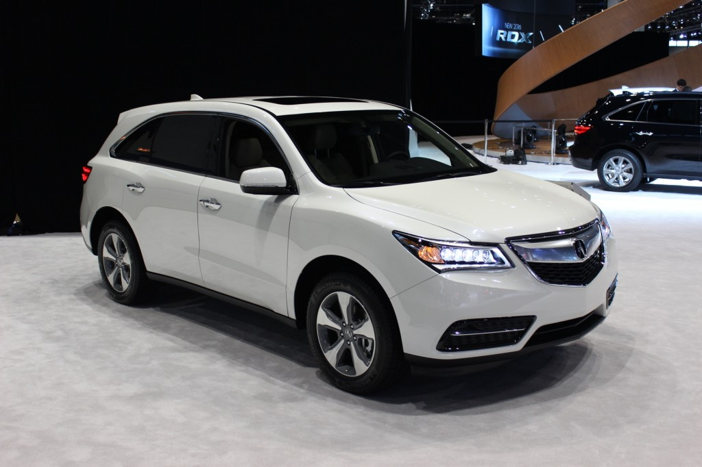 The general features of Acura RDX