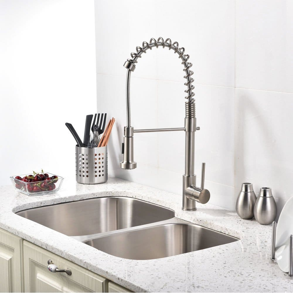 Unique abilities of the modern kitchen sink