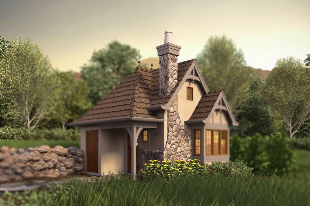 amazing tudor style tiny house plans_3