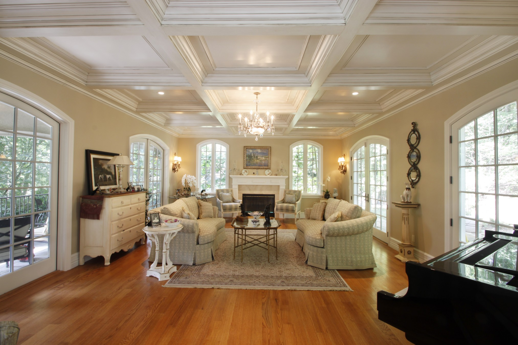 coffered ceilings ideas
