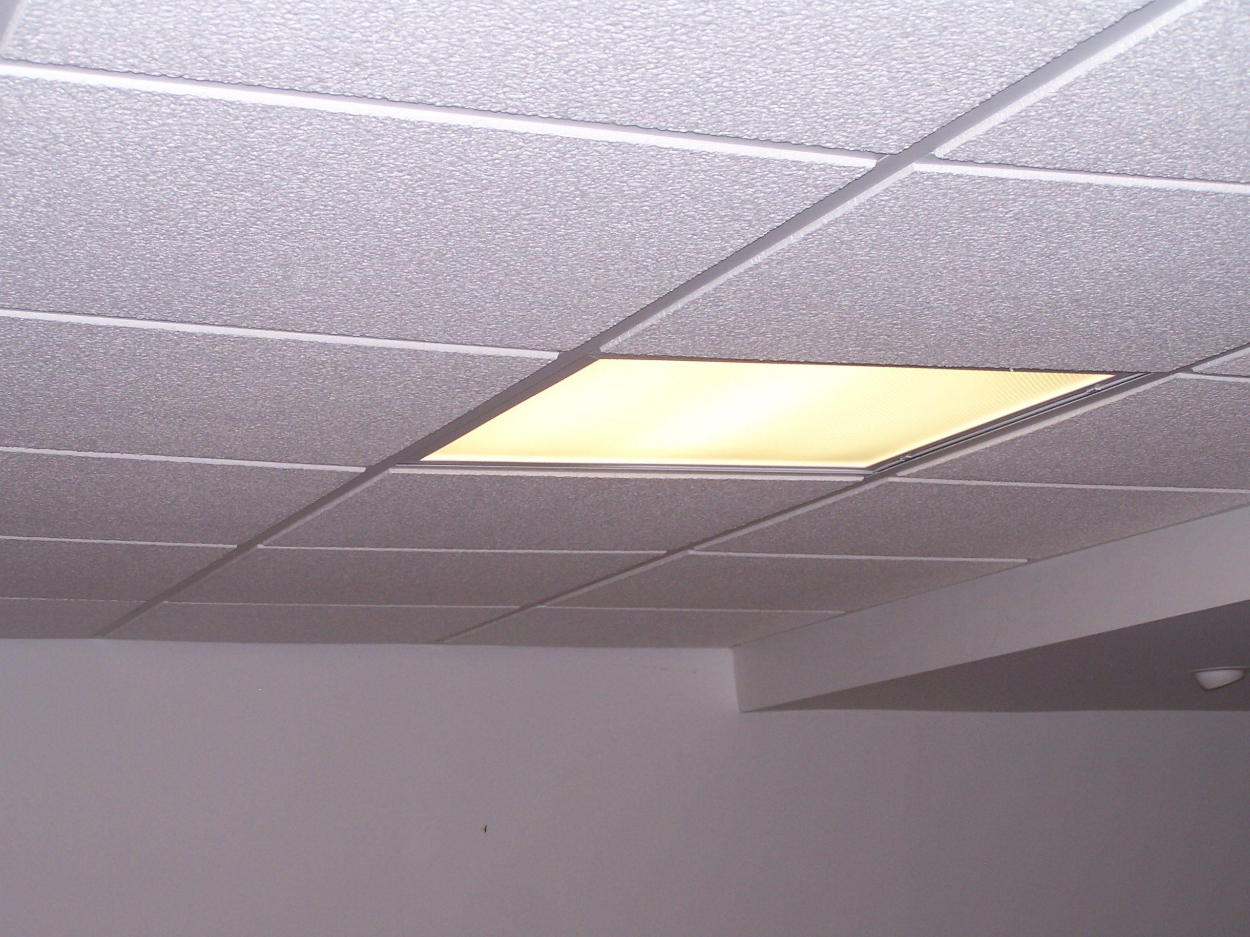 drop ceiling light fixtures