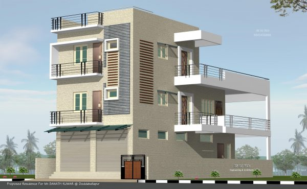duplex house plans indian style with outside steps_8