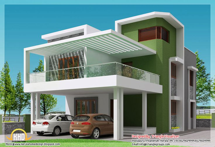 modern house plans indian style_13