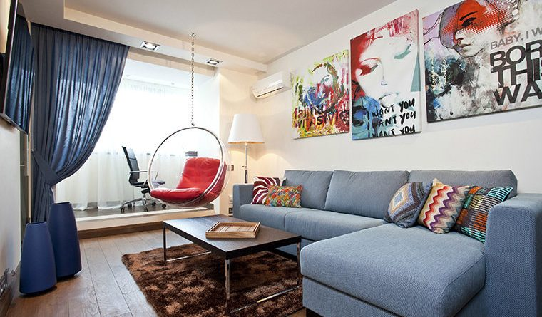 Design of the hall in the apartment (16 m2)