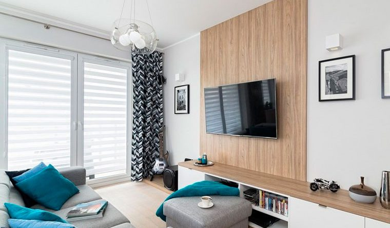 How to place the furniture in the room (18 m2)