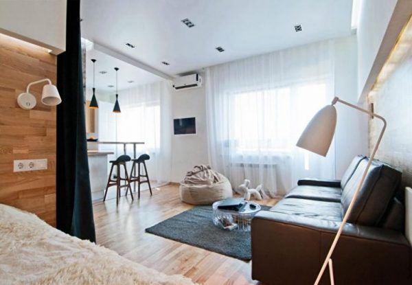 Renovation of one-room apartment