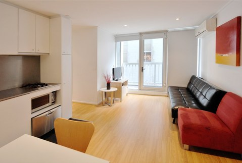 Renovation of one-room apartment in the new building