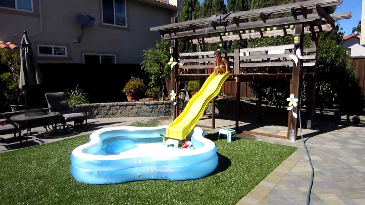 inflatable-above-ground-pool-slide